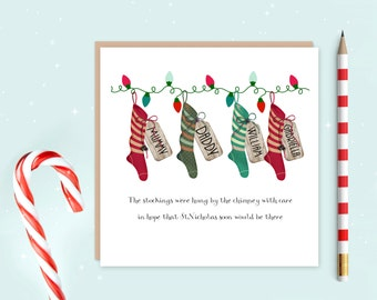 """Shop """"personalized stockings"""" in Paper & Party Supplies"""