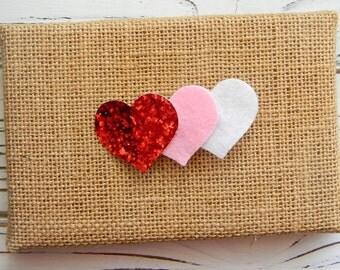 Heart Hair Clip - Valentine Hair Clip - Heart Hair Clip - Valentine Clippie - Heart Clippie - Girls Hair Clip