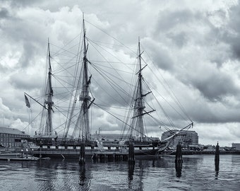 Photograph of the USS Constitution