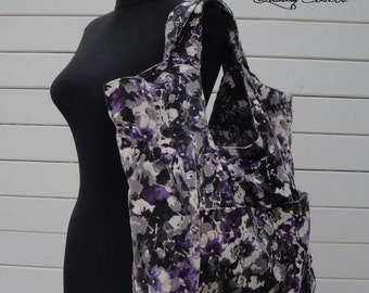 Ready to Ship tote bag as in picture or Customizable for Color Fabric and Size -Tote-Handbag - Shoulder Bag -Everyday bag - interior Pockets