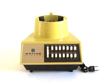 Waring Solid State Blender Motor Base 79 Motor Replacement Part 11-051 Vintage Futura 14-speed Harvest Gold
