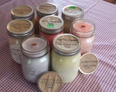 "16oz Wood Wick Soy Candles CHOOSE YOUR SCENT ""Candles for St. Christopher's Childrens' Hospital"""