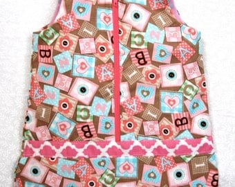 Baby Doll Bunting bag for 15 inch Dolls