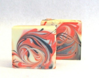 Natural Shampoo Bar Orange Spice, Winter Scent, Orange and Clove Handcrafted SLS Free Solid Shampoo Bar for Natural Hair Care