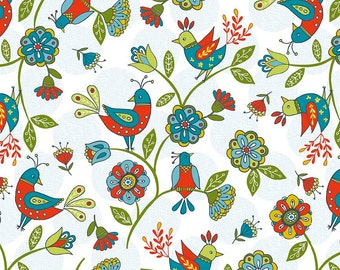 LAMINATED cotton fabric by the yard (similar to oilcloth) - Dutch Treat - EXCLUSIVE - Approved for children's products