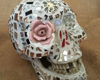 Mosaic skull, sugar skull