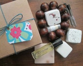 Sampler Box #6 of Perfume, Soap, Bath Bombs, Perfume, Lip Balm STORE CLOSING