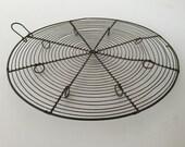 Vintage French wire cooling rack / trivet