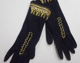 1950's evening gloves