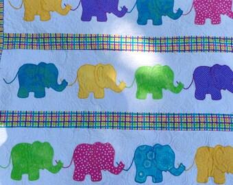 Elephant Baby Quilt
