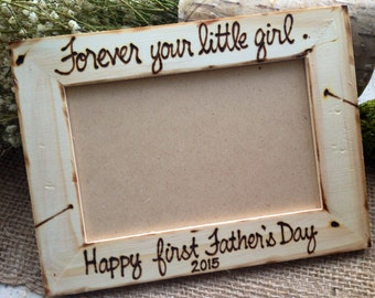 Forever your Little Girl First Father's Day Customize Wood Frame Wedding Father Daughter Dance Daddy's Girl