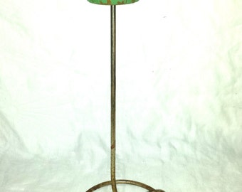 Art Deco Hat Stand Wood and Metal