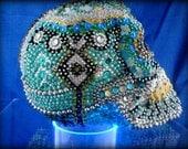 Mosaic Skull, Day of the Dead, Sugar Skull, Dia de Muerte
