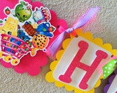 Shopkins Birthday Party Banner