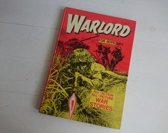 Vintage Warlord Book for Boys 1977