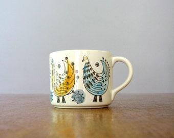 Vintage Mid Century Rorstrand Fenix Cup / Mug Herta Bengtsson