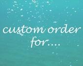 jdaniel - Custom Order
