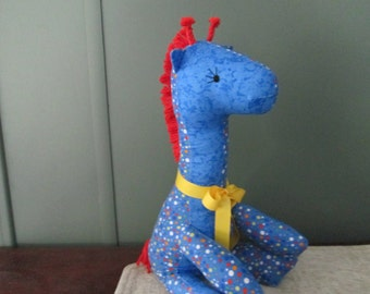 BUDDY THE GIRAFFE Cloth Stuffed Animal Toy