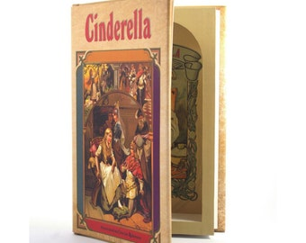 Hollow Book Safe - CINDERELLA -  Secret Storage Fairy Tale Book