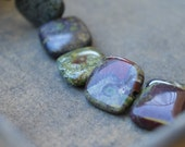 Dragon's Blood Jasper Square Beads