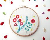 Embroidered flowers -Bordado Floral
