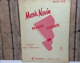 Mark Nevin Piano Course Book 1 - Piano Teaching Book - 1960