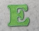 Single 3 inch Upper Case Letter (Cooper font) MADE to ORDER Choose COLOR and Letter - Tutu & Shirt Supplies - iron on Applique Patch z 8040