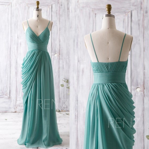 Y Neck Bridesmaid Dresses 118