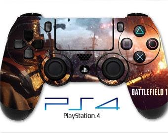 Battlefield 1 Skin PS4 Controller Skin Wrap Fire Skin Sticker Playstation 4 Skin