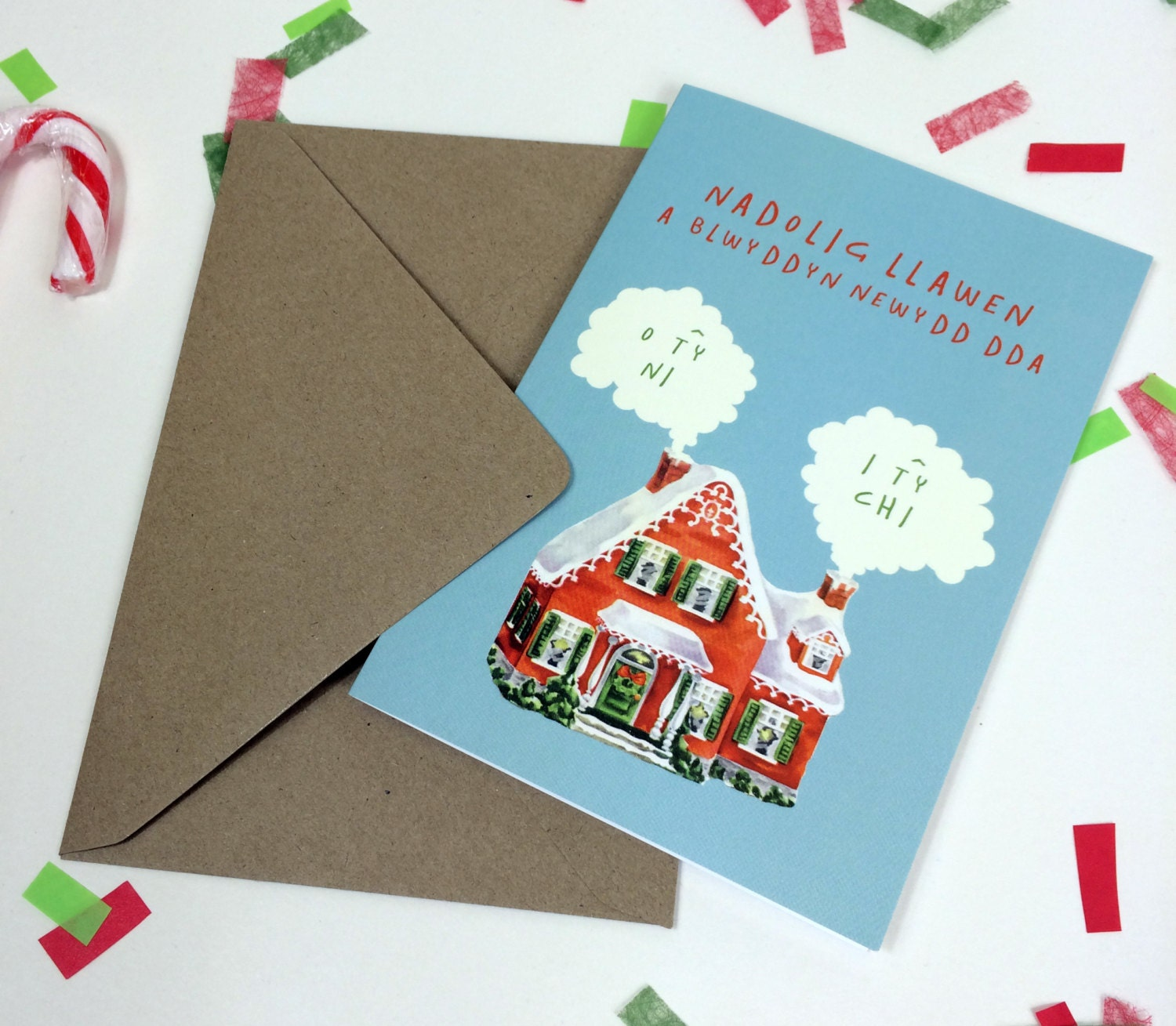 Nadolig llawen ty ni ty chi welsh text christmas eco friendly nadolig llawen ty ni ty chi welsh text christmas eco friendly greeting card kristyandbryce Images