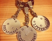 Brother keyrings trio...