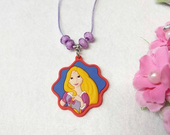 10 Princess Rapunzel   Necklaces Party Favors