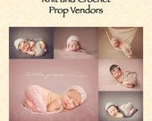 Digital e-document - Guide to knit and crochet newborn photography prop vendors