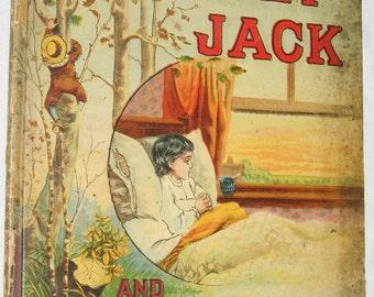 Monkey Jack & Other Stories Antique Children's Book