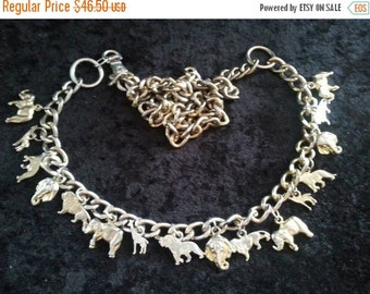 Now On Sale Vintage heavy Couture chunky necklace or belt belly dancing charm jewelry