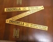 Cinderella Stove advertising ruler folding yardstick vintage 1908 De Haven Stove Co