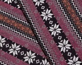 Thai Woven Cotton Fabric Tribal Fabric Native Fabric by the yard Ethnic fabric Aztec fabric Craft Supplies Woven Textile 1/2 yard (WF122)