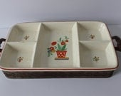 Vintage Pottery Guild Hostess Ware Serving Tray