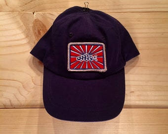 Infant Hat with BadAxeDesign logo fly fishing artwork of Jonathan Marquardt