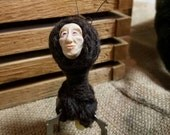 Gregory the Guileless: Handmade sculpture of a wee, happy creature