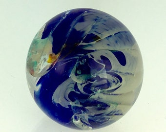 Glass Paperweight - Medium Swirl by Jonathan Winfisky