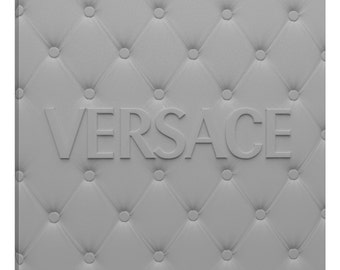 iCanvas Versace Panel Gallery Wrapped Canvas Art Print by 5by5collective