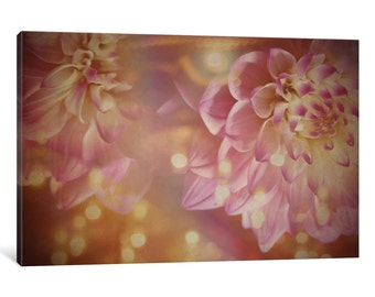 iCanvas Champagne On My Tongue Gallery Wrapped Canvas Art Print by Morgan Kendall