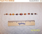 BIGGEST SALE EVER Vintage Multi Color amber. 14 Kt. yellow gold. Read description before buy.