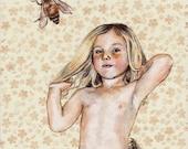 Bees Original Painting