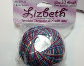 Lizbeth Tatting Thread - Size 20 - Ocean Sunset - Color 155 - Your Choice of Amount - Made by Handy Hands