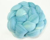 Polwarth Wool Top (Roving) - Spinning / Felting Fibre - 4 oz. - Clear Sailing