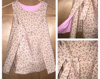 Boho Retro Style Wrap Dress, size 4t