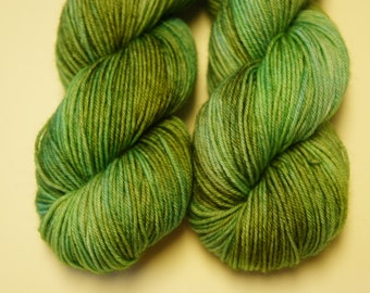 Swamp Thang...Halflings, 1 (50g) skein, Fingering Sock Weight