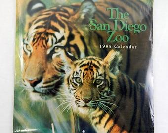 Vintage 1995 2017 The San Diego Zoo Calendar